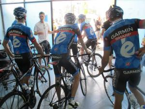 Chann McRae  Cycling